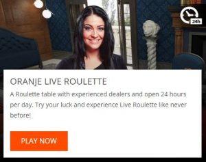 oranje casino review live casino